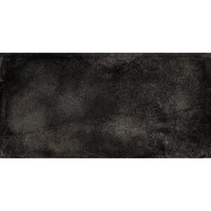 London Black R11 Textured Porcelain Tiles 12x24
