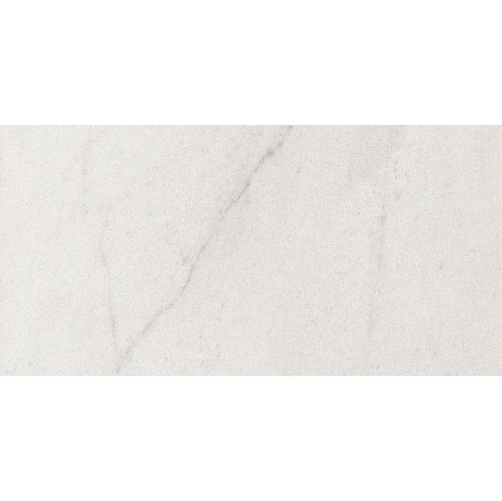 Crystal White Polished Porcelain Tiles 12x24 Marble