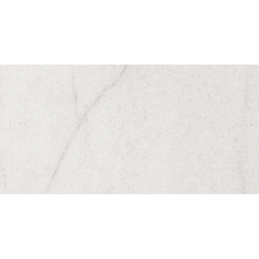 Crystal White Matte Porcelain Tiles 12×24