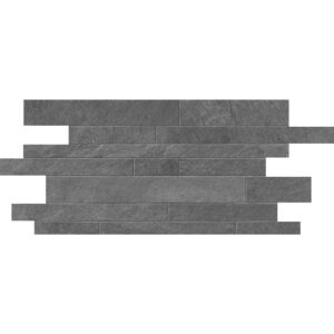 Gray Flow Natural Muretto Porcelain Mosaics 12x24