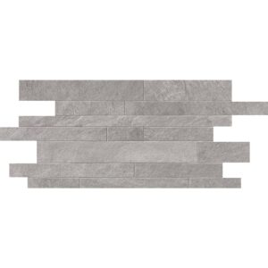Silver Flow Natural Muretto Porcelain Mosaics 12x24