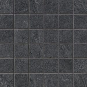Dark Flow Natural 2x2 Porcelain Mosaics 12x12