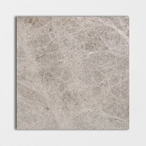 Bishop Grey Polished Marble Tiles 24x24