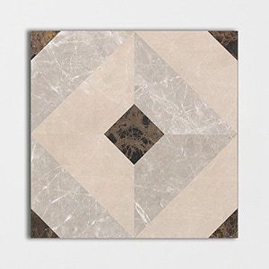 Classics Dimentions Polished Marble Decorative 24x24