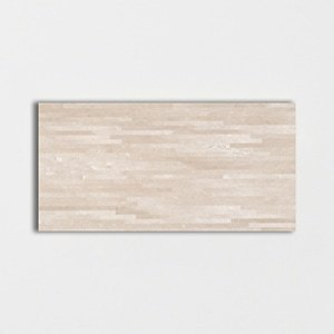 Marfil Supreme Polished Lineal Marble Patterns 12x24