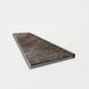 Emporador Dark Polished Marble Baseboards 6x24