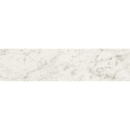 Bianco Carrara Polished Porcelain Tiles 3x12