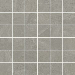 Light Grey Natural 2x2 Porcelain Mosaics 12x12