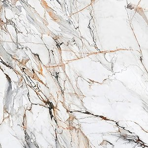 Calacatta Luxe Cl01 Polished Sintered Stone Slab 125x63