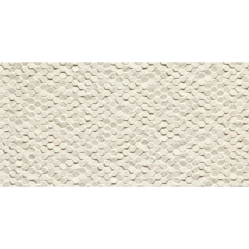 Statuario Gold Honed&rectified Esagonetta Porcelain Tiles 12×24