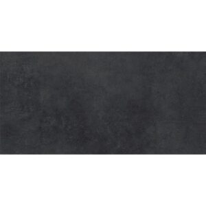 Ark Black Matte Porcelain Tiles 12x24