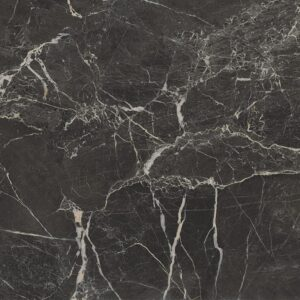 St Laurent Black Polished Porcelain Tiles 24x24
