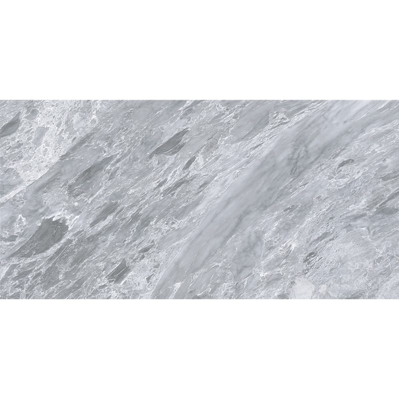 Cloud Grey Polished Porcelain Tiles 12×24