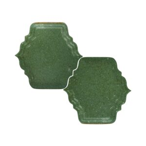 Tefusee Green Vivid Mina Blend Ceramic Decorative 5x5