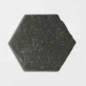 Grey Dog Glazed Hexagon Terracotta Tiles 6x6