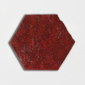 Kokai Glazed Hexagon Terracotta Tiles 6x6