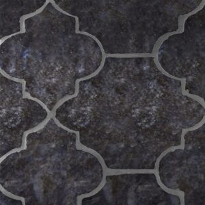 Boho Bronze Glazed Riviera Terracotta Patterns Random