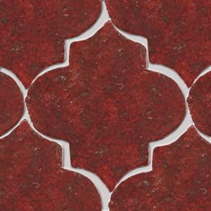 Kokai Glazed Arabesque Terracotta Tiles 9x10