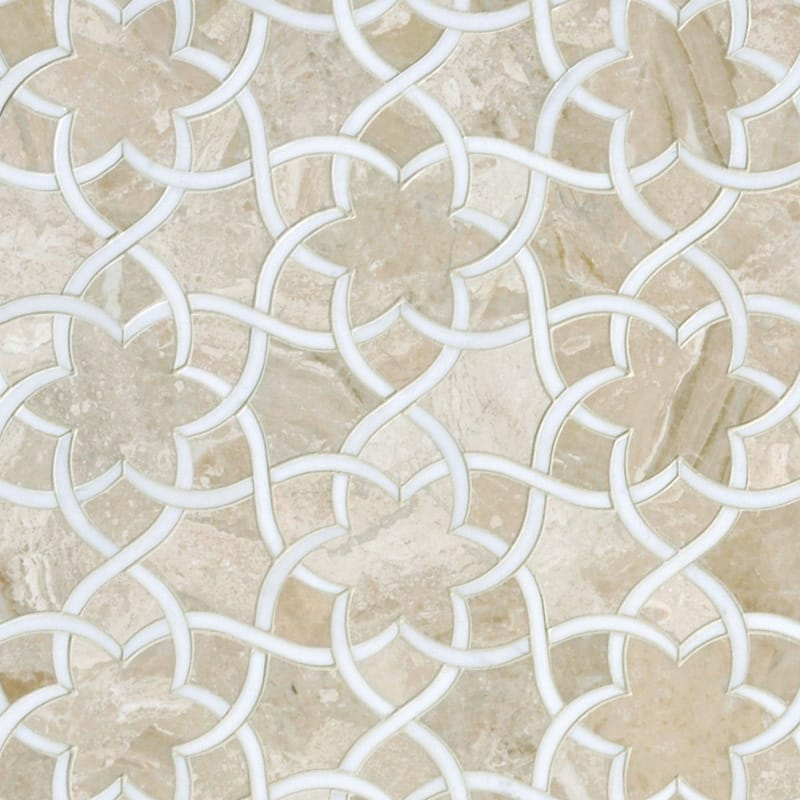 Diana Royal Dolomite Multi Finish Isidore Marble Waterjet