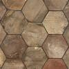 Reclaimed Natural Hexagon Terracotta Tiles 6x6