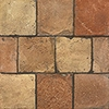 Reclaimed Natural Square Terracotta Tiles 6x6
