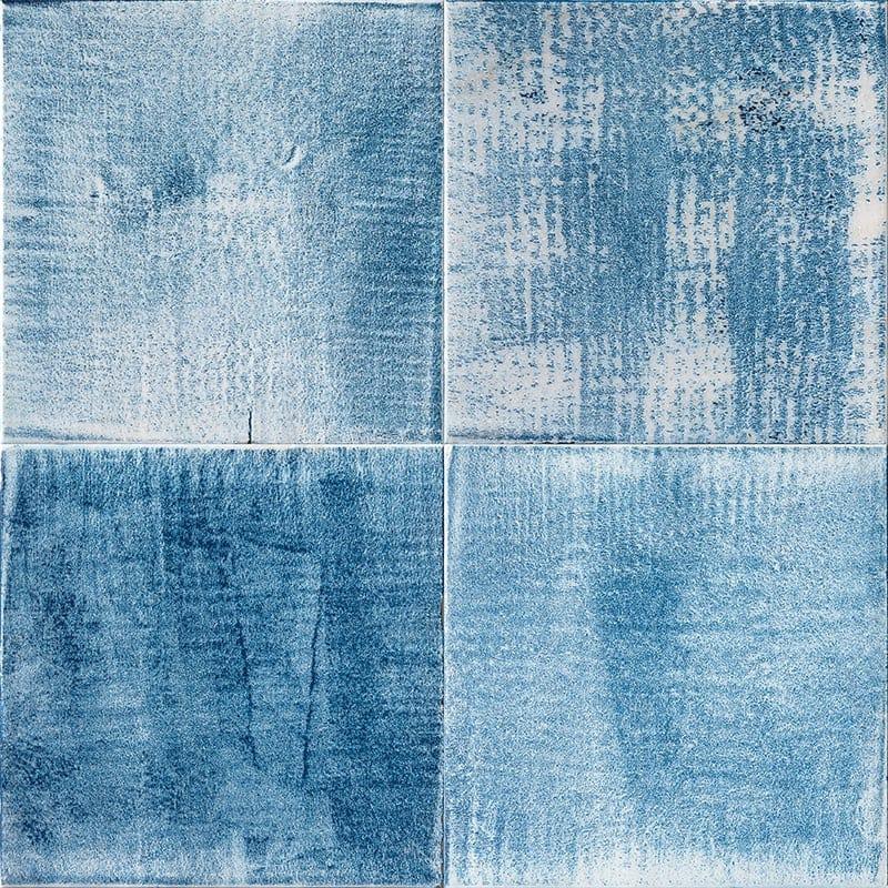 classic blue tiles