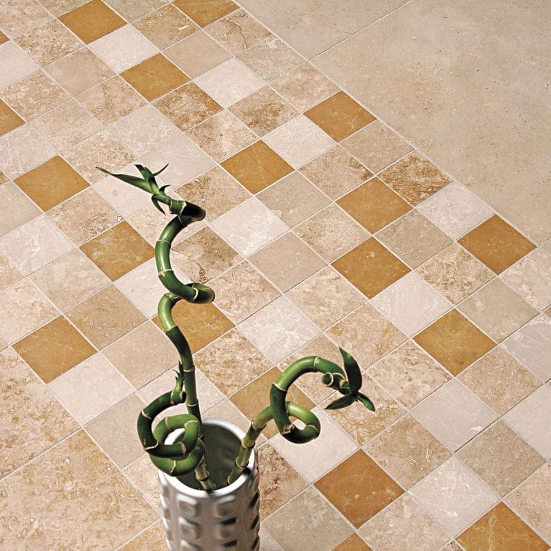 Canyon honed filled travertine tiles 2 3 4x5 1 2 marble for Living room 4x5