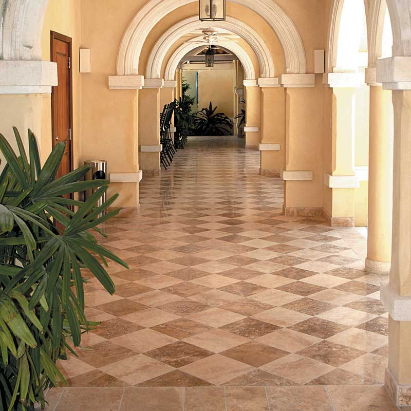 Ivory Travertine Tile Marble Systems Inc