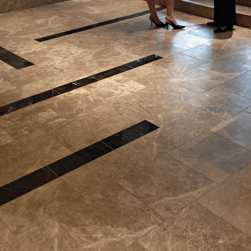 St Laurent Polished Marble Tiles 12x12