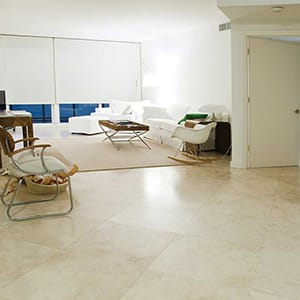 IVORY LIGHT HONED&FILLED TRAVERTINE TILES (TL10356)