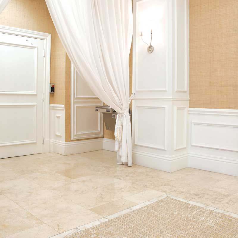 Seashell Limestone Tile Collection