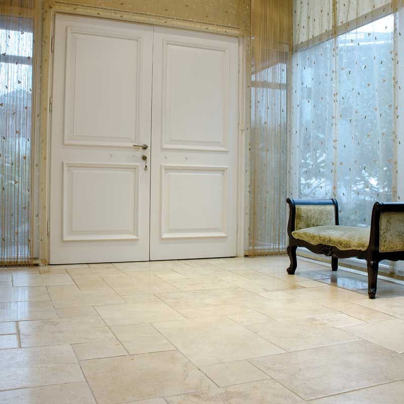 Seashell Antiqued Limestone Patterns Versailles Pattern Custom Versailles Pattern