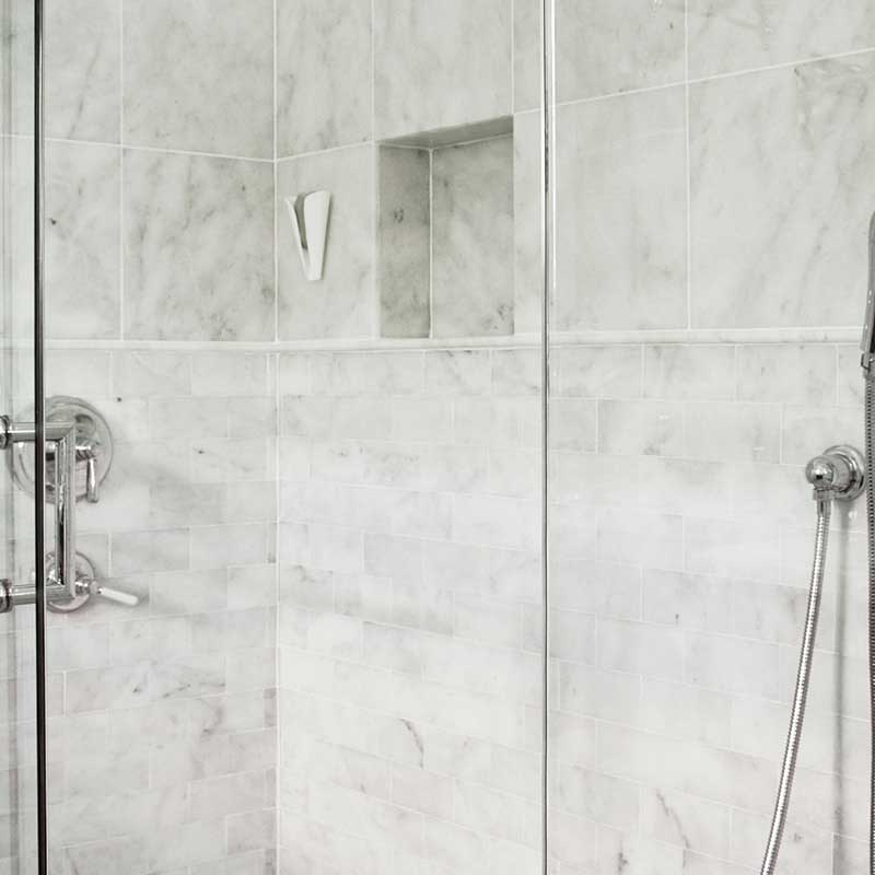 Avenza honed marble tiles 2 3 4x5 1 2 marble system inc for How to hone marble