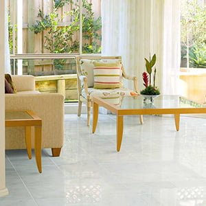 AVALON POLISHED MARBLE TILES (TL13372) FROST WHITE WATERJET DECOS ()