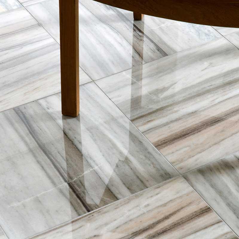 Palisandra Polished Marble Tiles 12x12