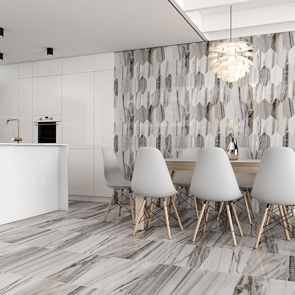 Skyline Polished Marble Collection