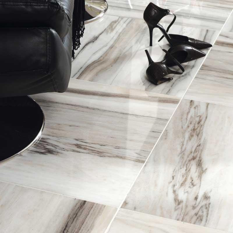 Skyline Polished Marble Tiles 18x18