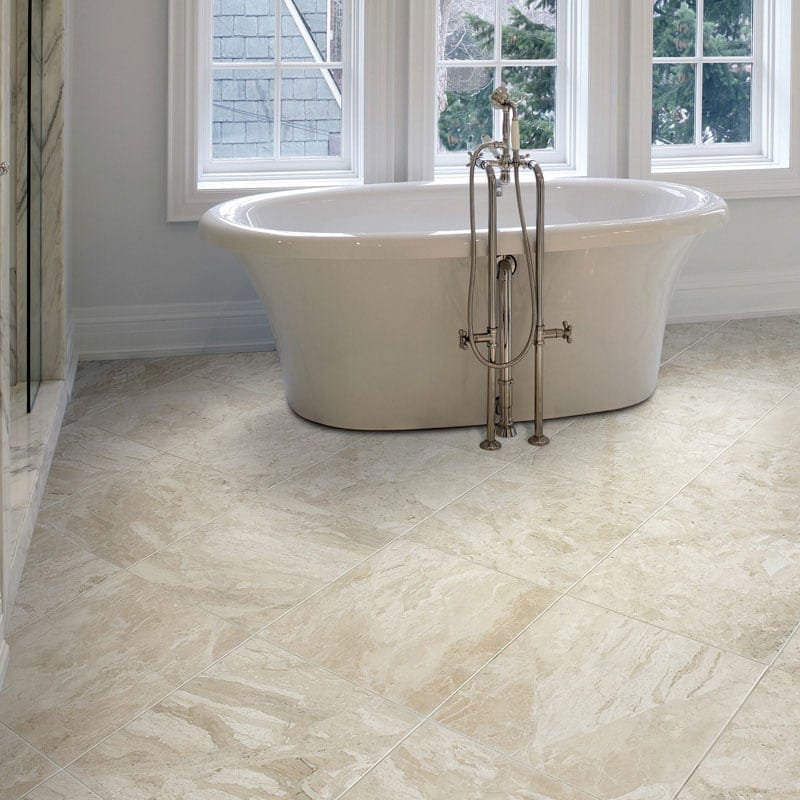 Diana royal honed marble tiles 12x12 marble system inc for How to hone marble