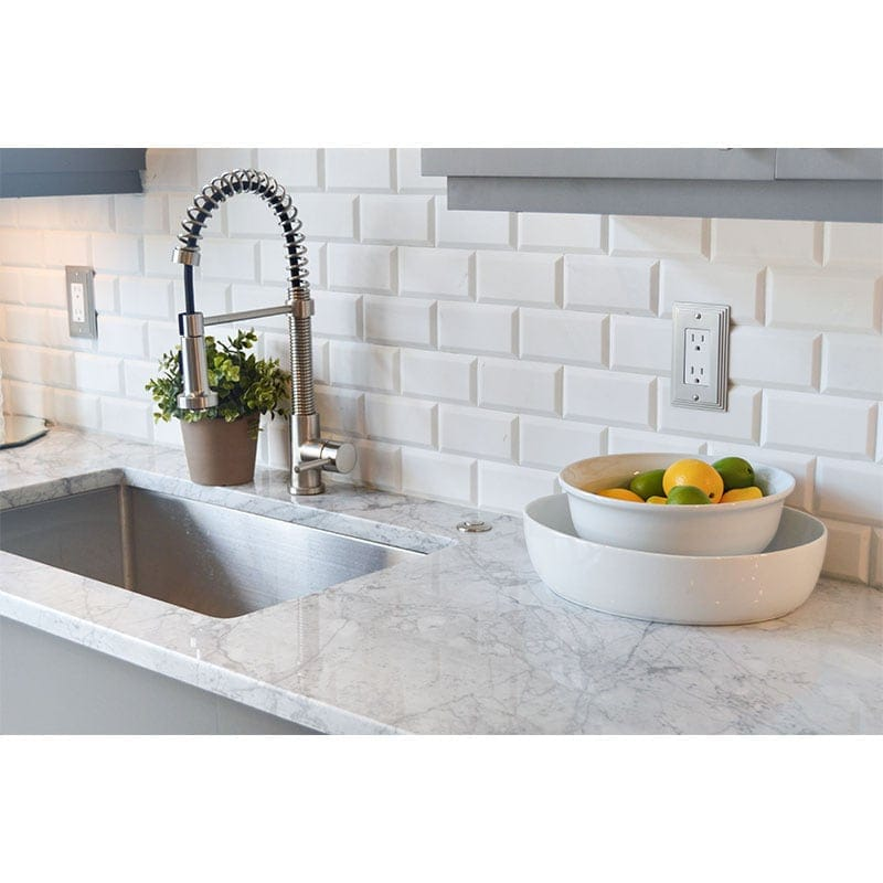 Aspen White Honed Marble Marble Systems Inc