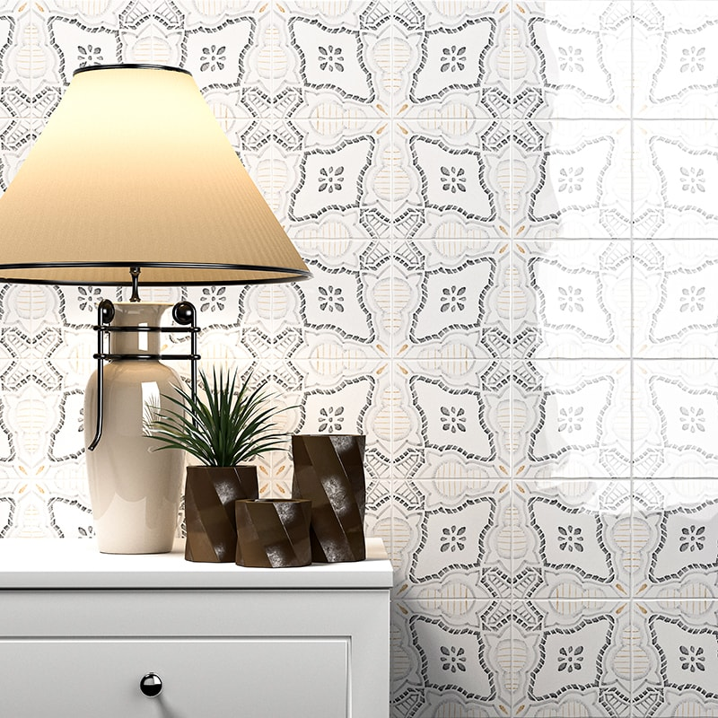 Marsala Bianco Ceramic Collection