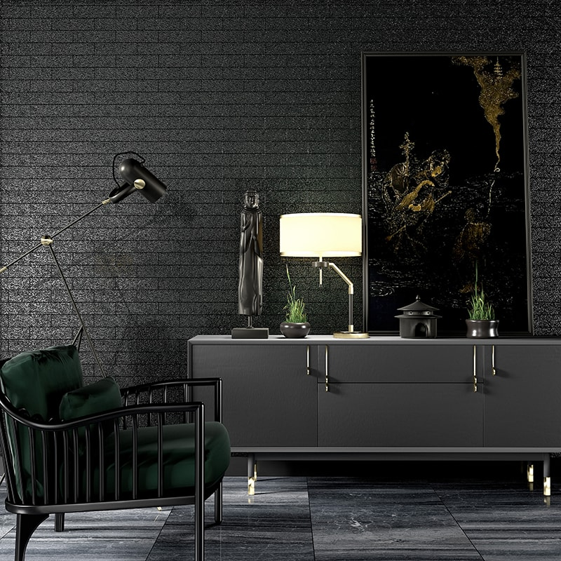 Chelsea Metallic Brick Collection