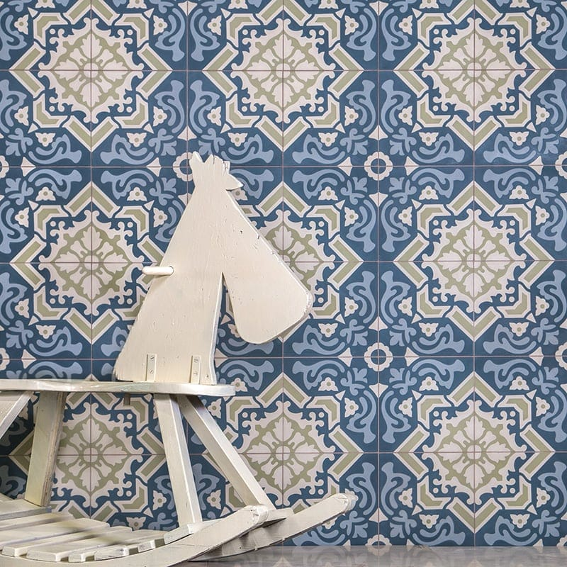 Barcela Plus Cement Tile Collection