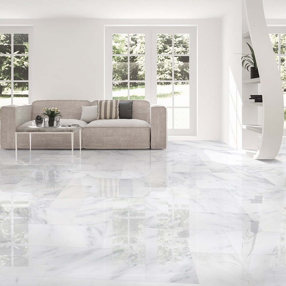 Calacatta Bella Polished Marble Tiles 12x24