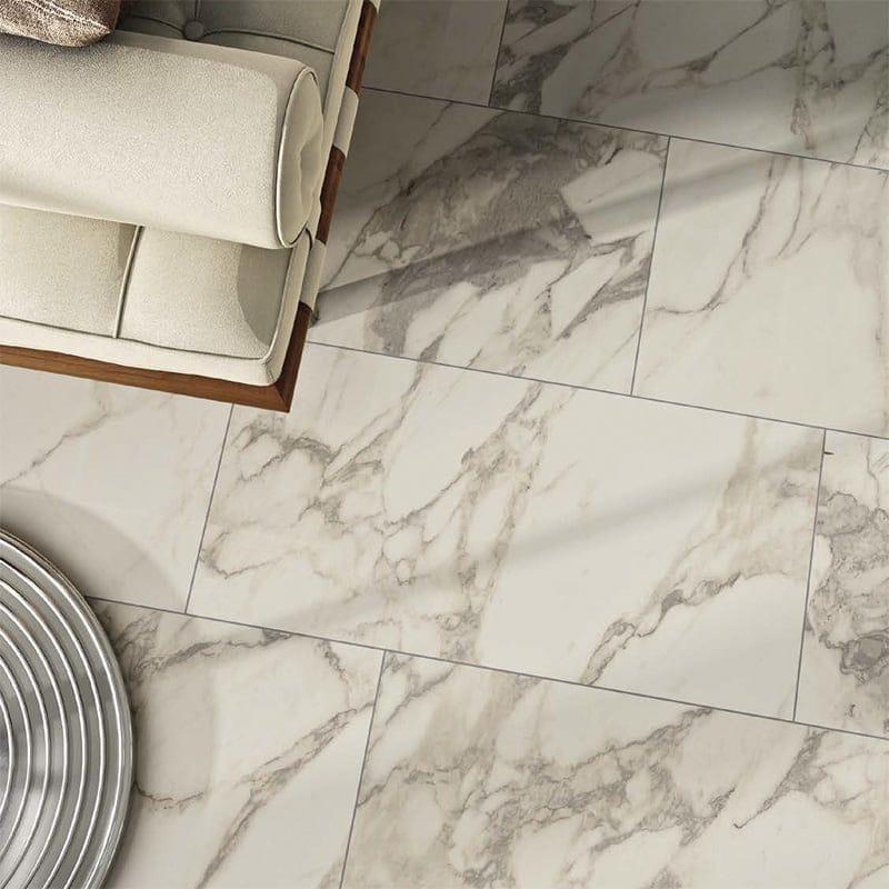 Carrara Marble Porcelain Tile