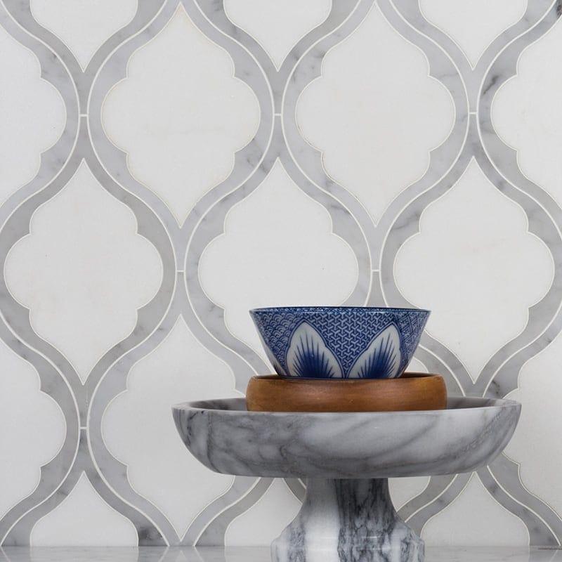White Carrara Thos Multi