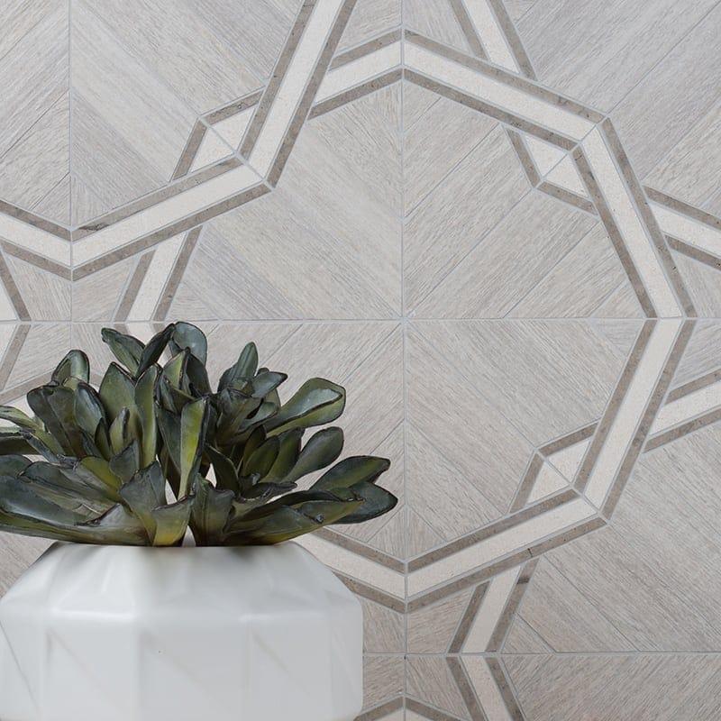 angular geometric tiles