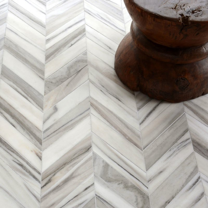 SKYLINE VEIN CUT MULTI FINISH BOSPHORUS MARBLE MOSAICS (YNR10051)