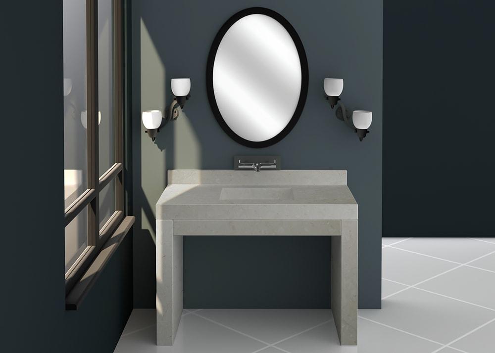 SL10872 Vanity Top