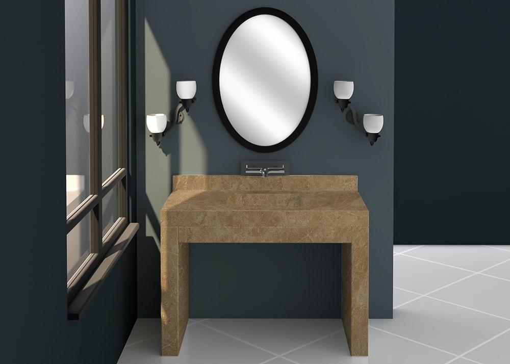 SL10877 Vanity Top