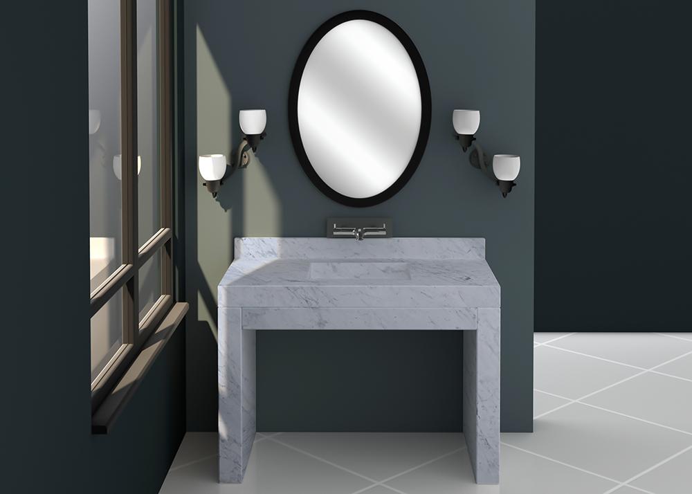 SL90457 Vanity Top